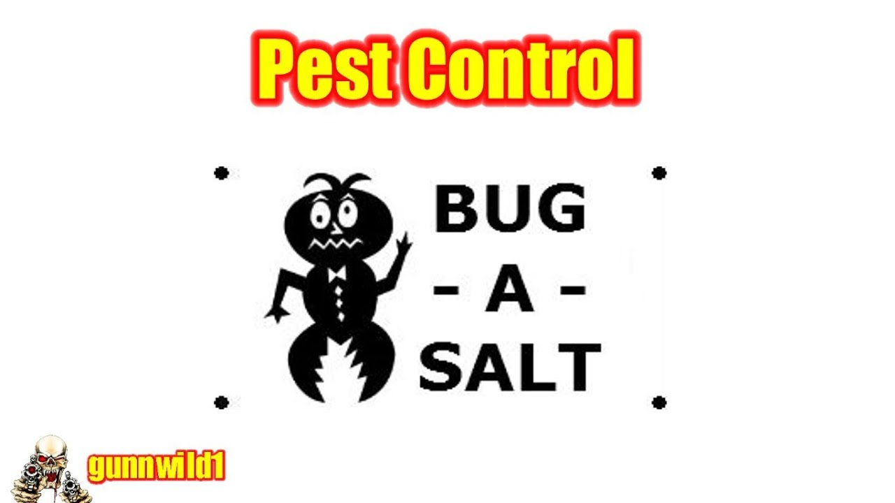 Pest Control with the Big-A-Salt