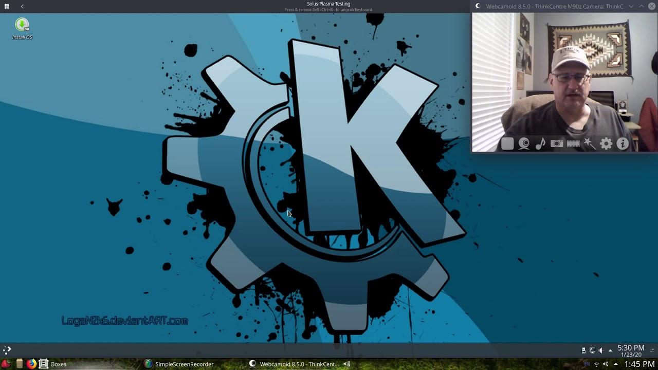 Solus 4.0 KDE Testing.
