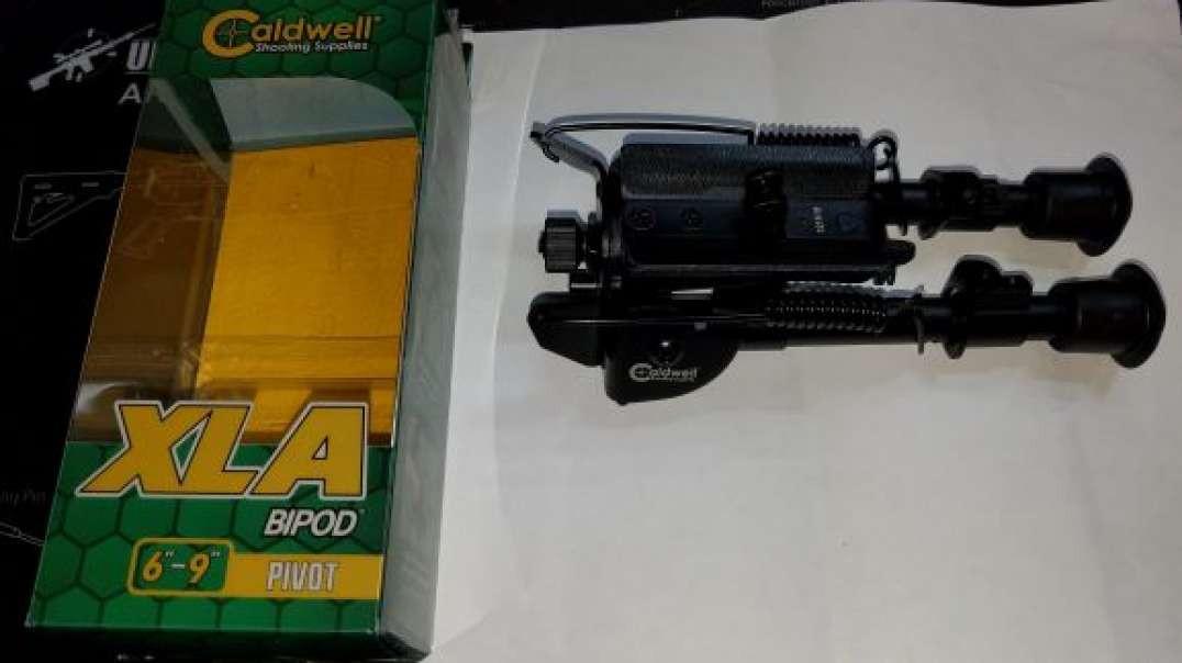 """Caldwell XLA 6""""-9"""" Pivoting Bipod - GS"""