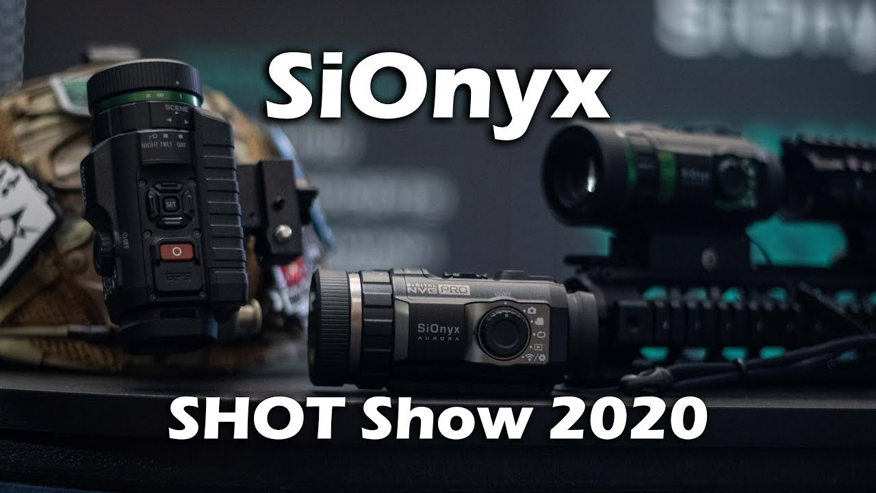 Color Night Vision Under $1000!! - SiOnyx SHOT Show 2020