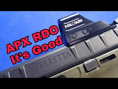 Beretta APX RDO: Final Thoughts