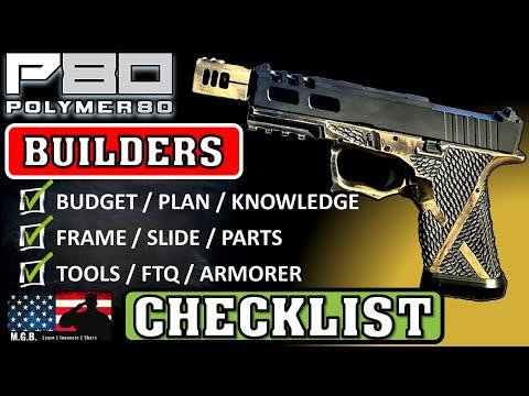 Polymer 80 Glock Builders Checklist