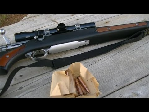 Shooting Cabela's Chinese 7.62x39mm in Ruger 77MKII