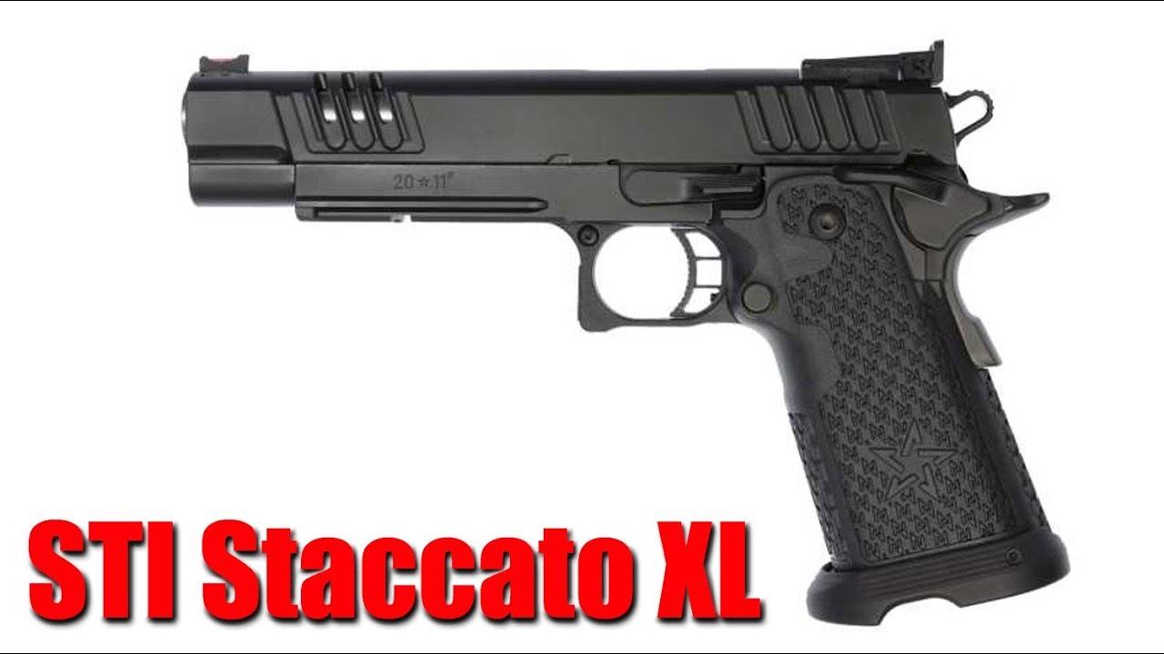 The New STI Staccato XL: Shot Show 2020