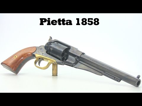Pietta 1858 - With Music (When Johnny Comes Marching Home)