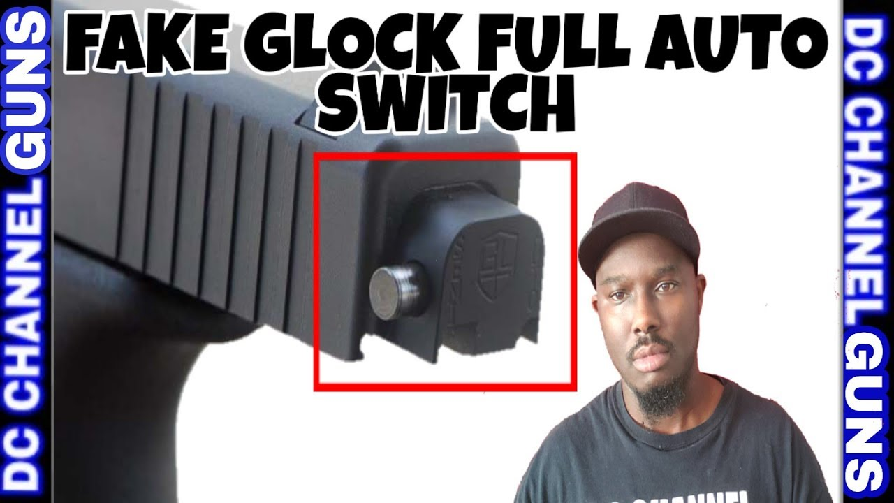 Illegal Glock Full Auto Switches On The Streets   GUNS