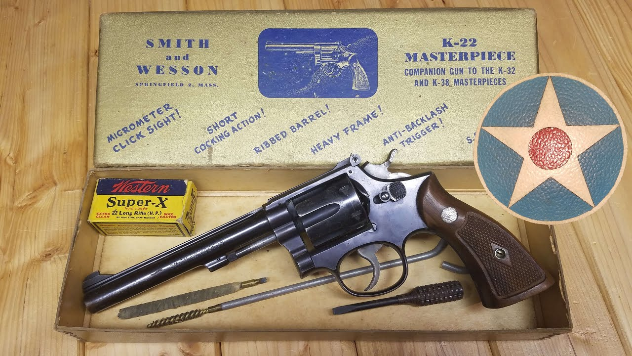 S&W K22 History & Review,  A Classic Revolver From Smith and Wesson.