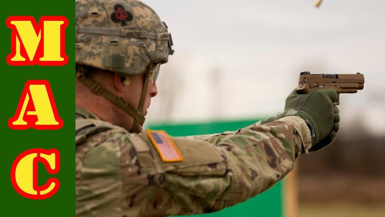 Surplus Army Sig M17 Handgun