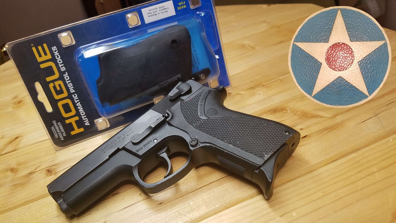Hogue Smith & Wesson 6900 Grip Install & First Impression Review