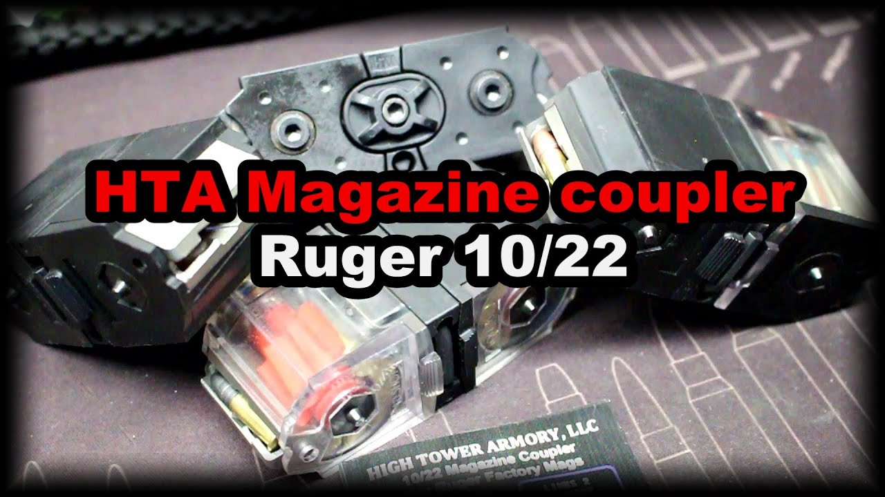 HTA Ruger 1022 Mag coupler great little item!