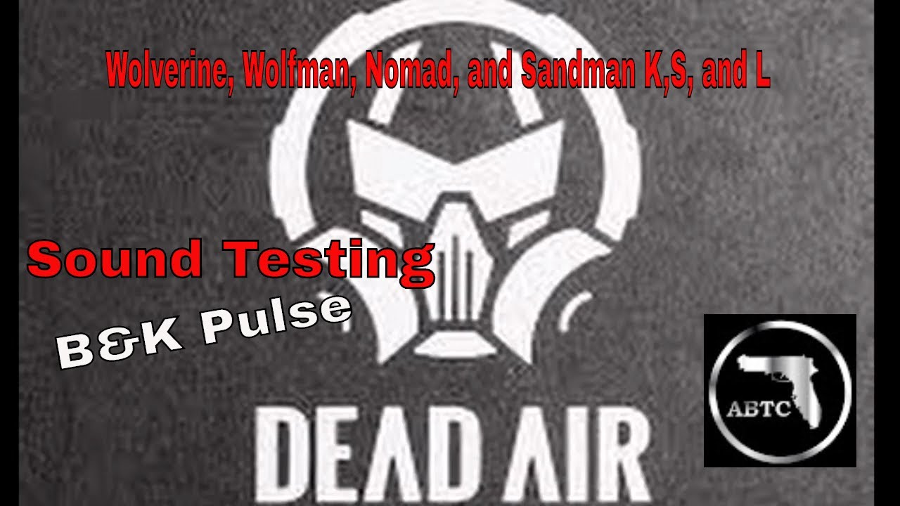 How quiet is DeadAir Wolverine, Wolfman, Sandman K, L, and S ?