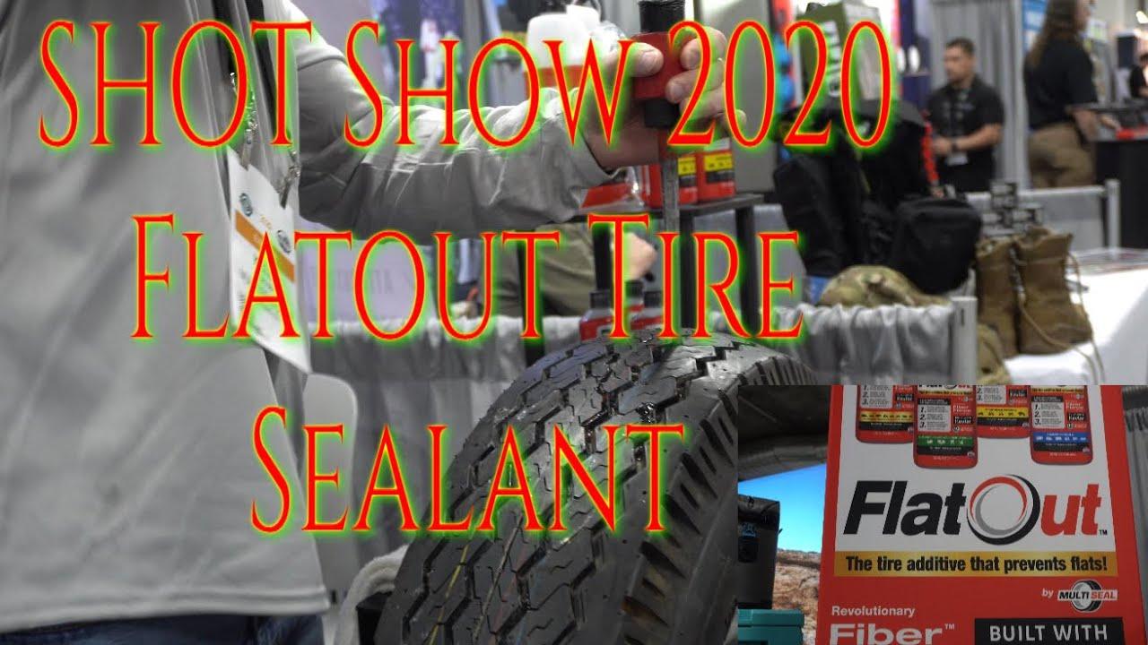 SHOT Show 2020 Flatout Tire Sealant