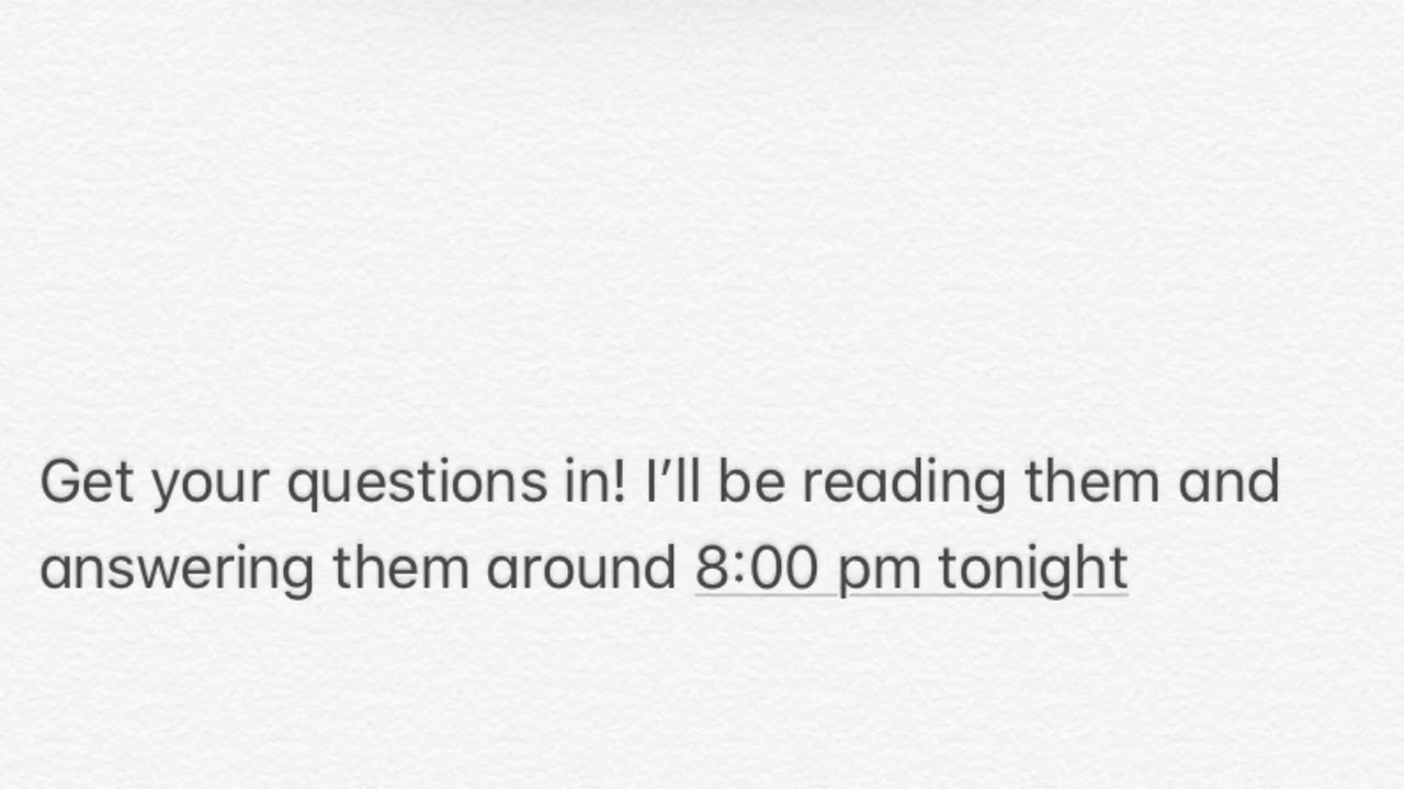Clock Is Ticking Last Minute Questions Before 8:00 Pm !