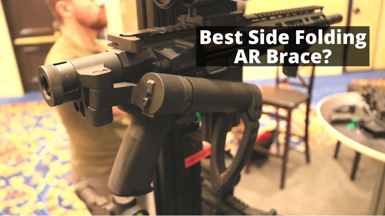 Best Side Folding AR Brace? Deadfoot Arms at Shot Show 2020