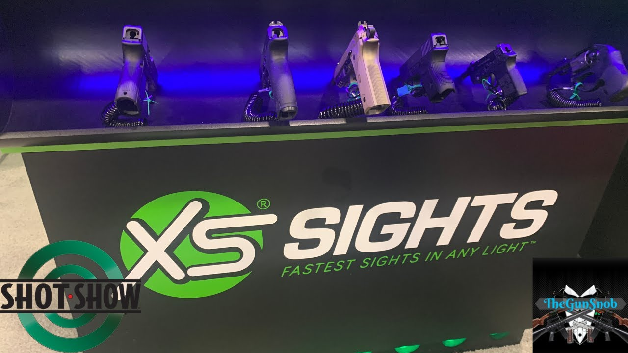 New RAM Sights From XS Sights SHOT Show 2020