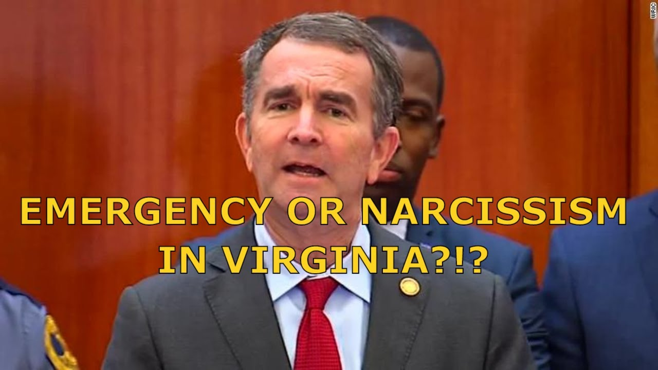 State of Emergency or State of Narcissism in Richmond???