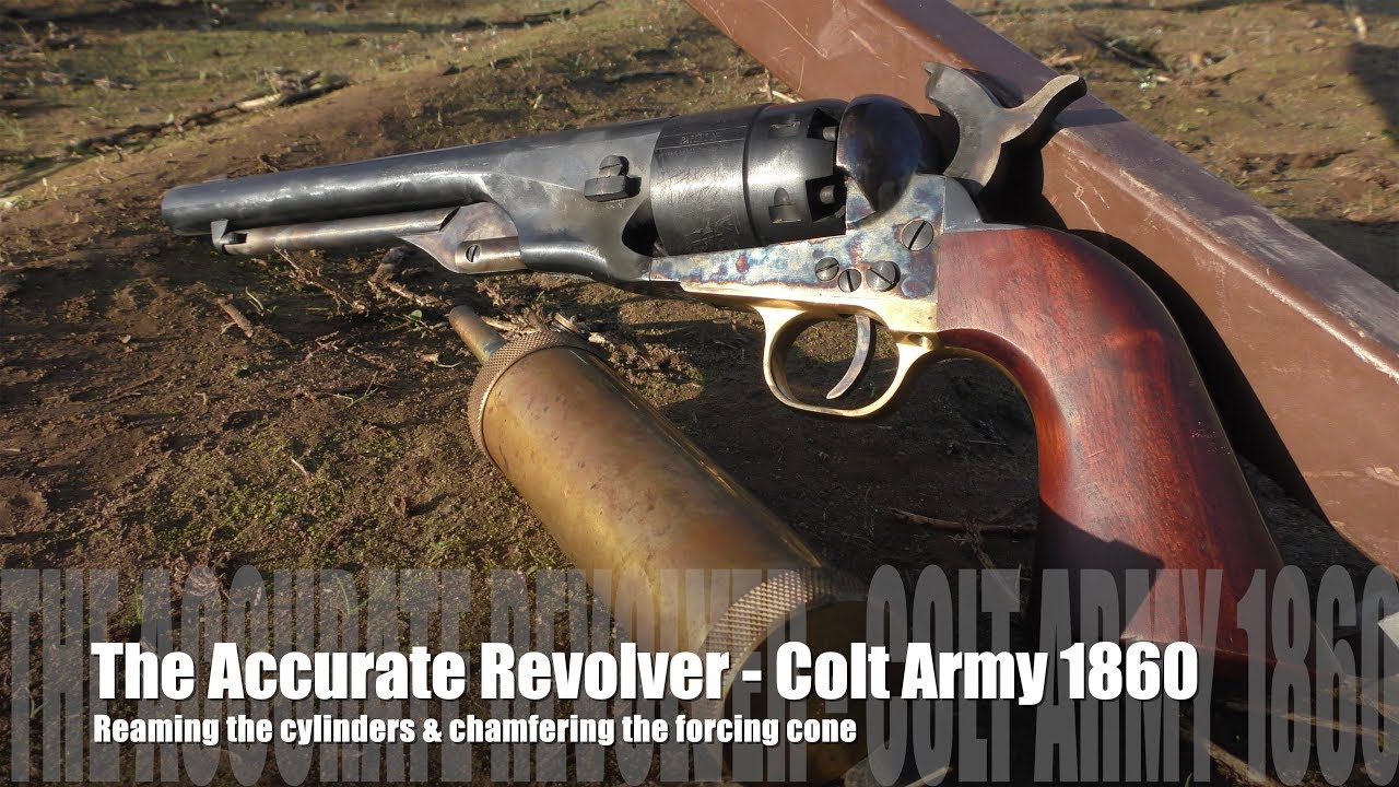 The Accurate Revolver - 1860 Colt Army