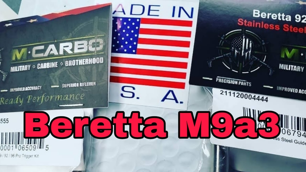 M-CARBO: Beretta M9a3