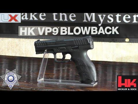 Heckler & Koch VP9 BLOWBACK CO2 BB Air Pistol