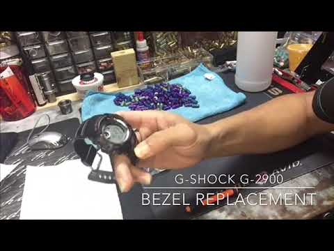 How to change bezel on Casio G Shock G-2900