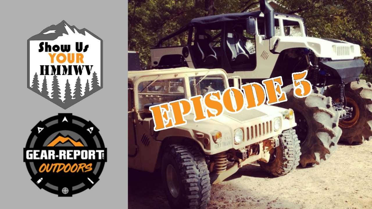 Show Us Your HMMWV! Episode 5 - Island Humvee, Georgia, Humdinger Monster HMMWV!