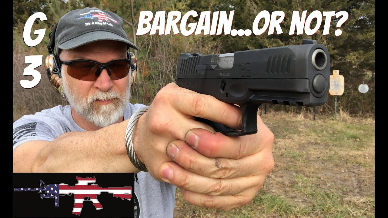 Taurus G3 9mm - Best BANG For You BUCK??  REVIEW