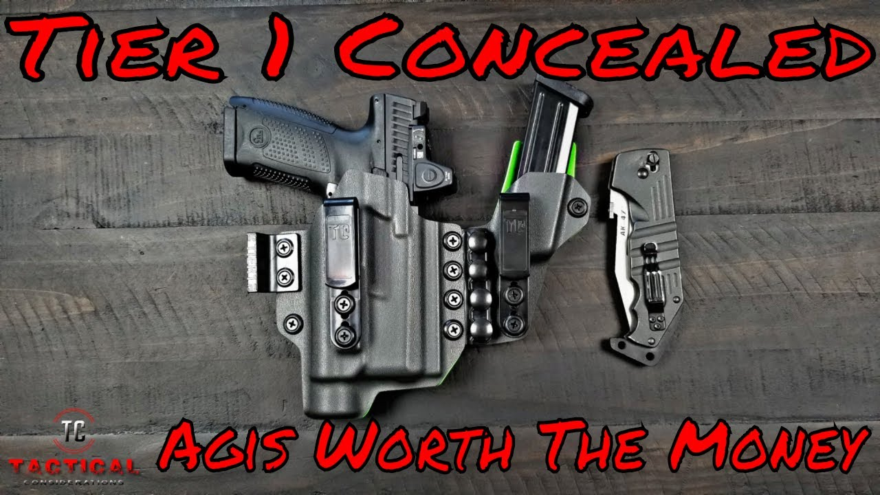 T1C  AGIS Holster Really That Good? Tier 1