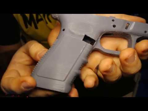 How to Embed a Mag Release Spring in Your 3D Printed Glock or Mac 11 Frame