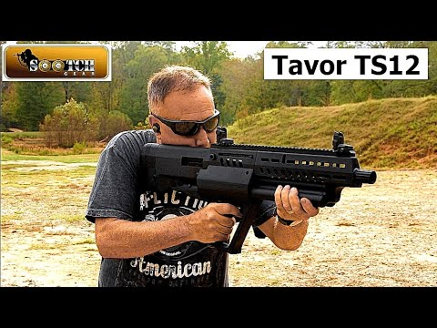 Coolest Shotgun Ever! IWI Tavor TS12