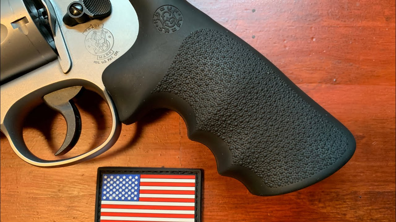 Review of the Hogue Tamer recoil absorbing grips. Can they tame the recoil of the mighty .44 magnum?