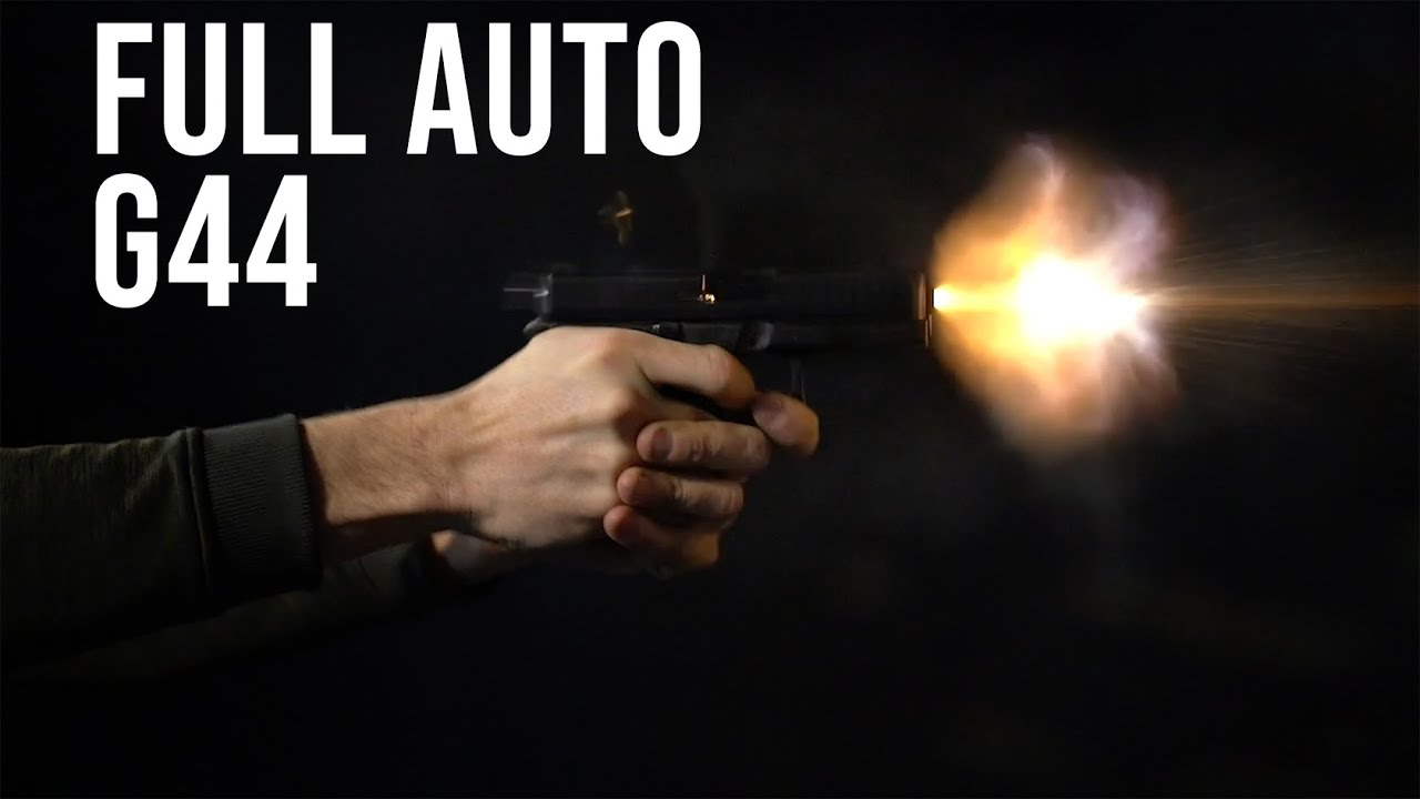 We Made A Full Auto Glock G44 // Culper Precision Full Auto Glock 22lr