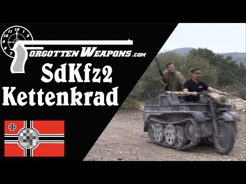 SdKfz 2 Kettenkrad: Germany's Halftrack Motorcycle
