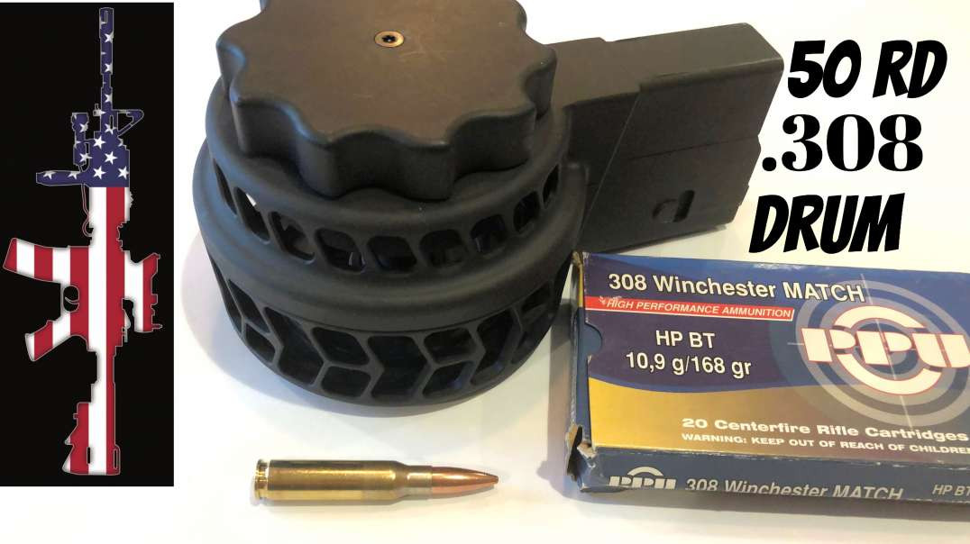 .308/7.62x51 50rd Drum - X-25C X Products