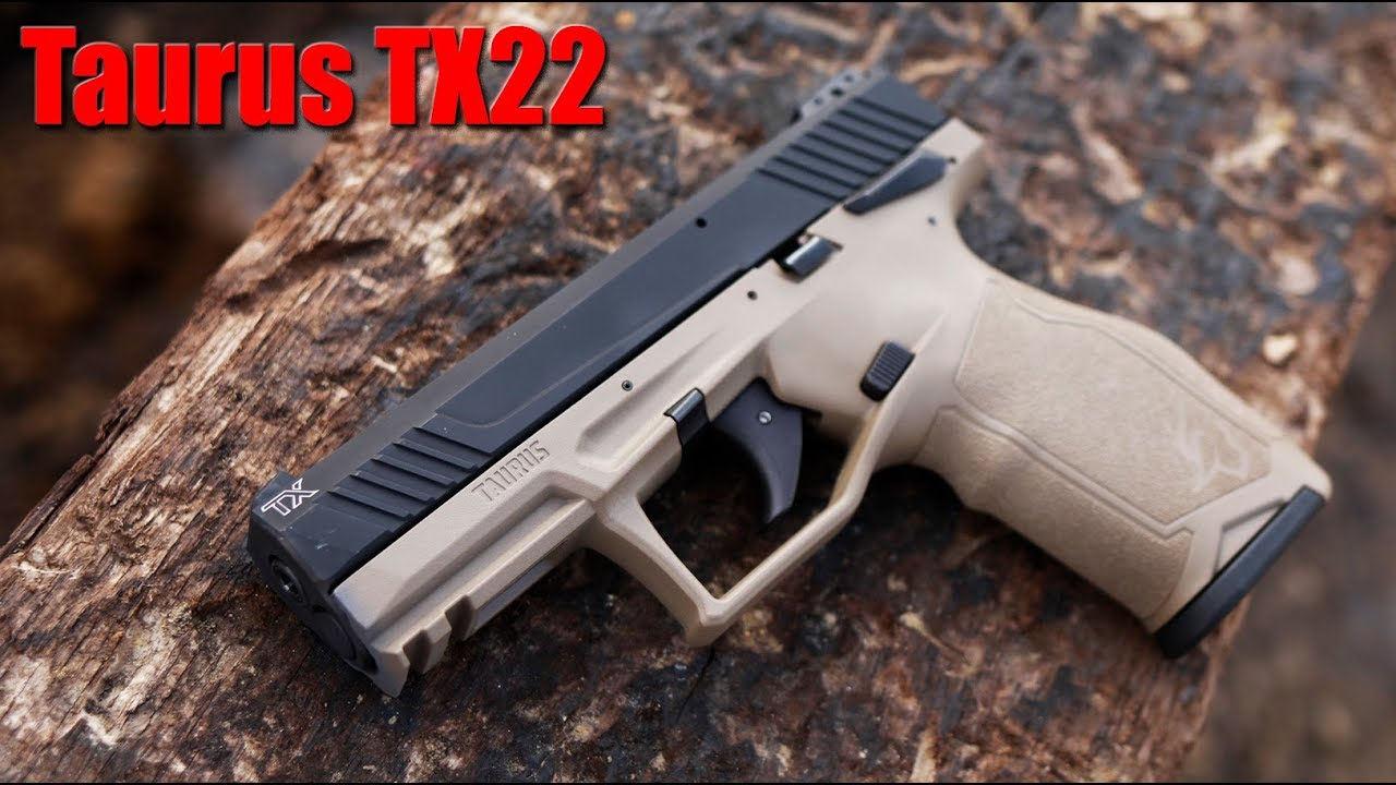 New Taurus TX22 First Shots