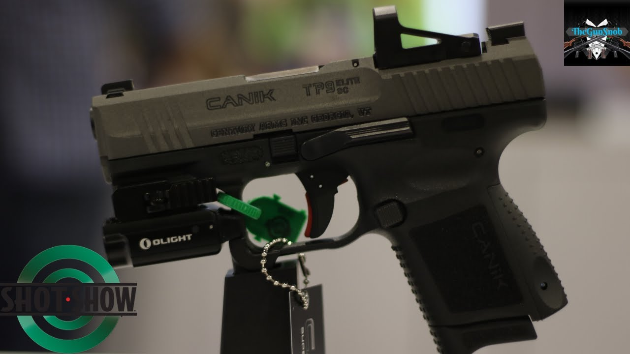 Canik Elite SC with Shield Optic Installed From SHOT Show 2020