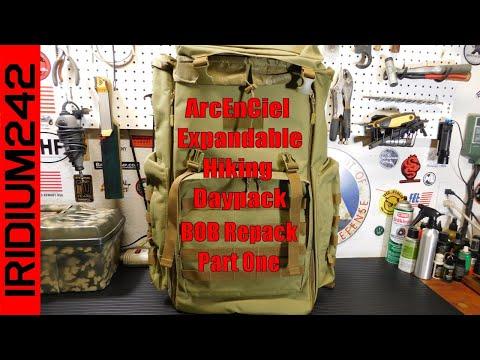 ArcEnCiel Hiking Daypack Bug Out Bag Repack: Part One, The Bag