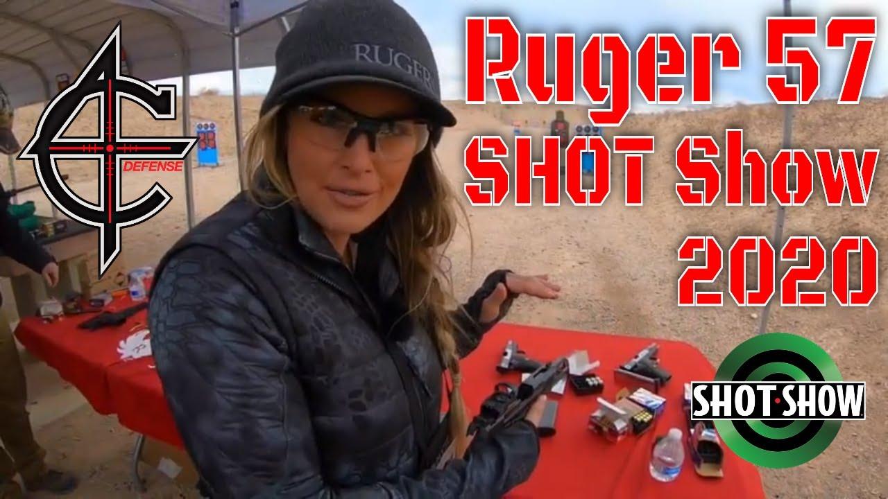 Ruger 57 at SHOT Show 2020