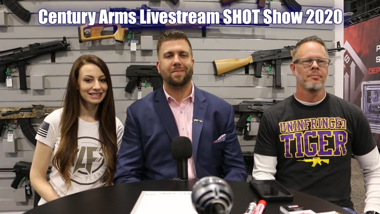 Century Arms Livestream from SHOT Show 2020