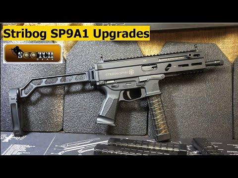 Grand Power Stribog SP9A1 Upgrades