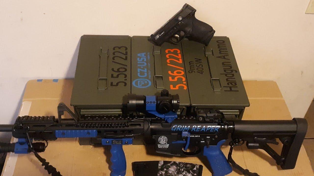 Stockpiling Ammunition!! <br>#SHTF #BeReady
