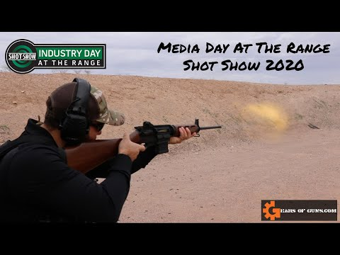 Top 7 Firearms from Media Day At the Range - SHOT SHOW 2020