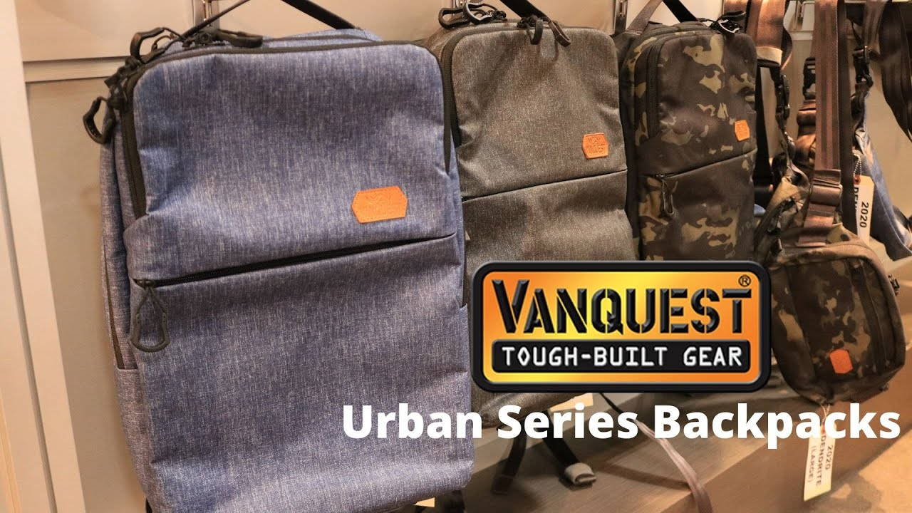 NEW Urban Series Backpacks from Vanquest at Shot Show 2020