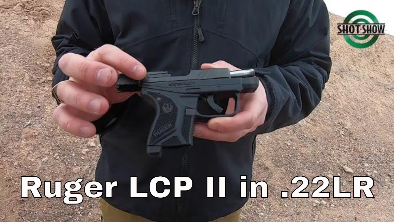 Ruger LCP II in .22LR - SHOT Show 2020 Range Day