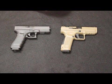 Canik TP9SA vs Glock 17 Gen 4
