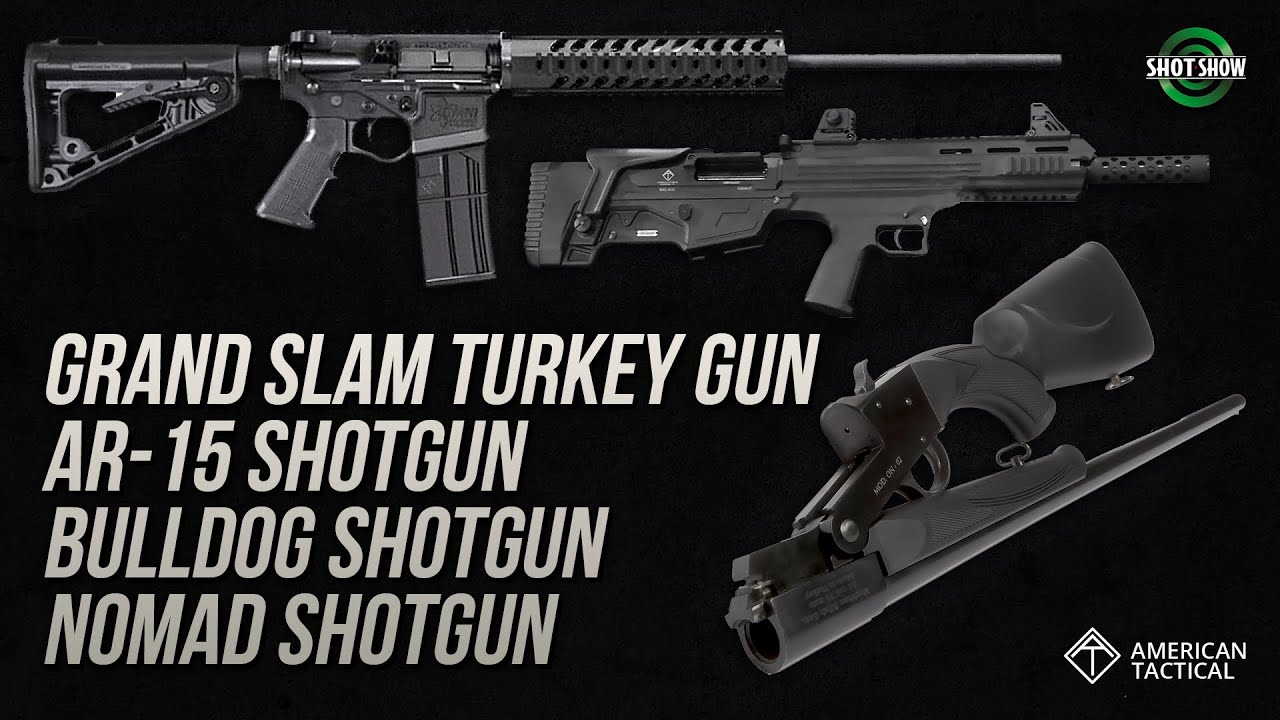 American Tactical Turkey Gun, AR-15, Bulldog and Nomad Shotguns - SHOT Show 2020