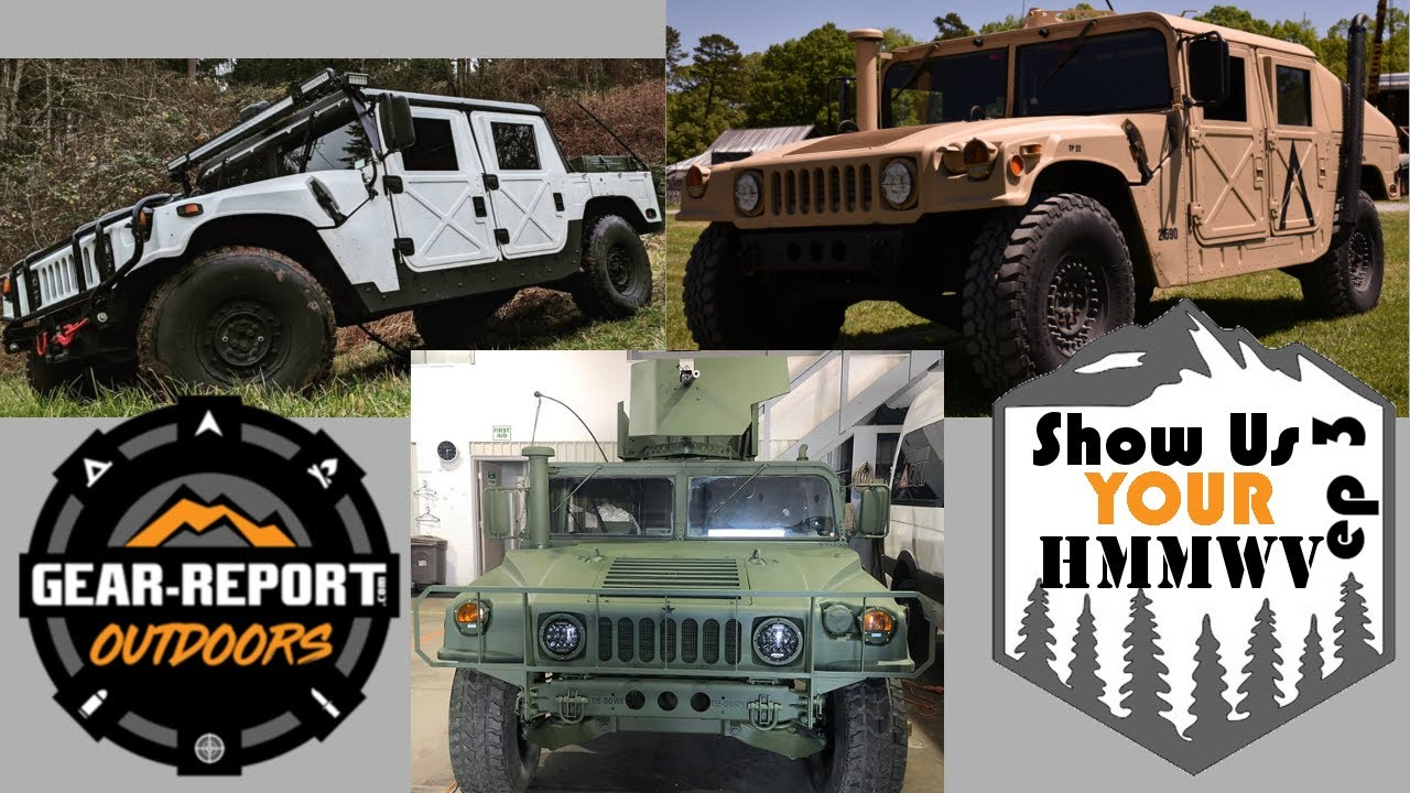 Show Us Your HMMWV! Episode 3 - M998, M1038, M1025!