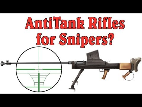 Why Antitank Rifles Were Not Sniper Rifles