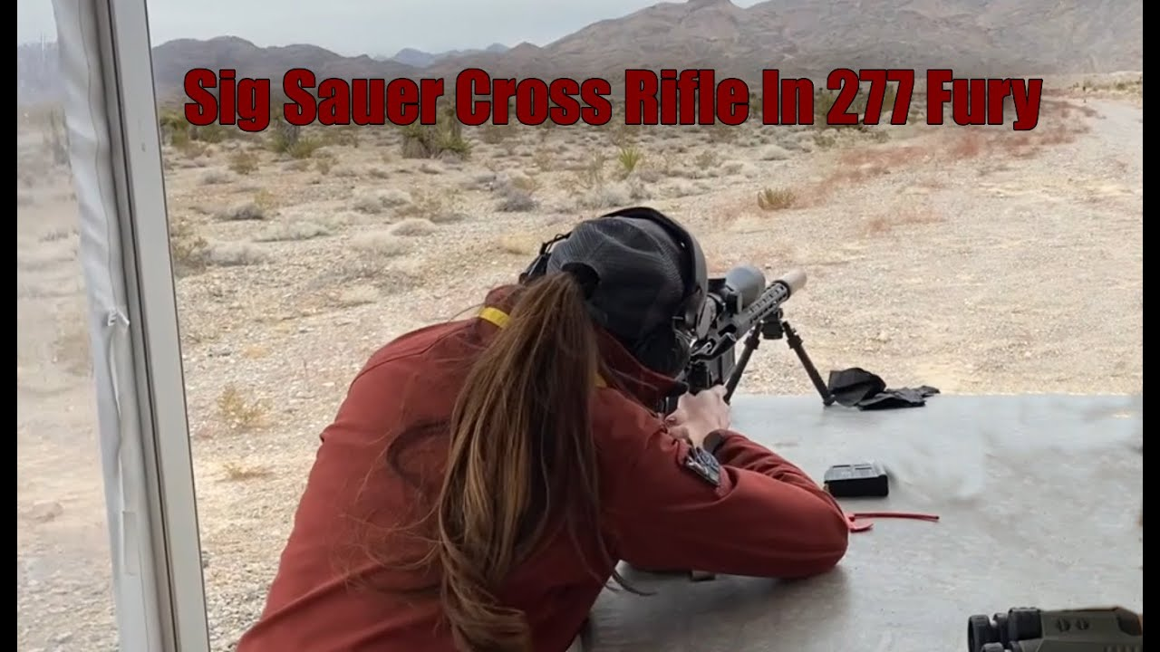 Sig Sauer Cross Rifle - In the all new 277 Fury!