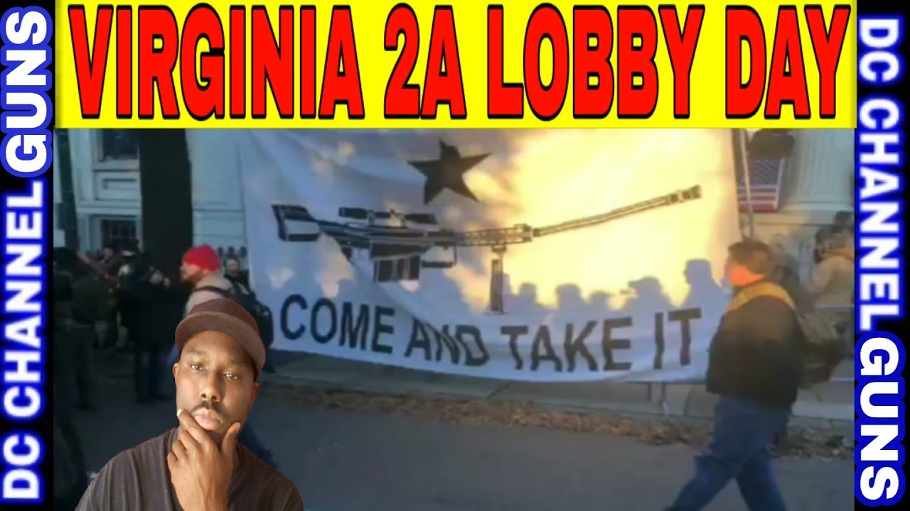 Live Virginia 2A Rally Event Coverage January 20 | GUNS