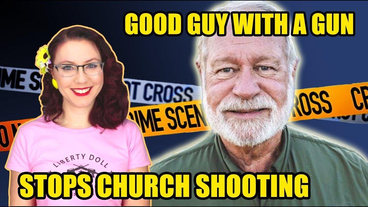 Good Guy with a Gun Stops Church Shooting